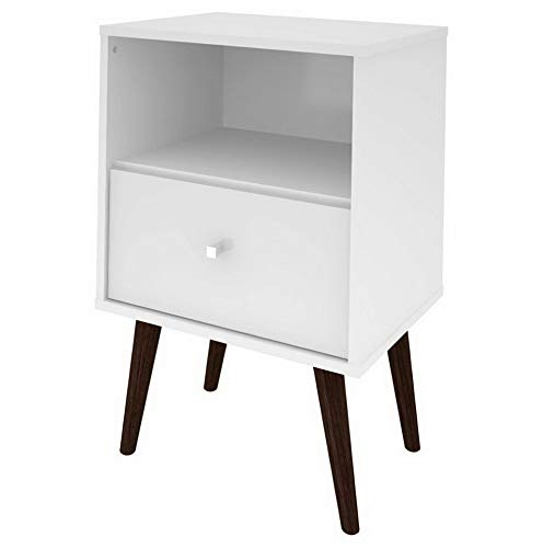 Mikash Liberty 1-Drawer Nightstand | Model NGHTSTND - 127 | ()