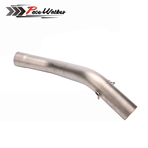 ZX-6R ZX6R motorcycle exhaust conntecr contact pipe motorcycle exhaust contact pipe connector for kawasaki ZX6R zx-6r 2009~2014 by PACEWALKER (Image #3)