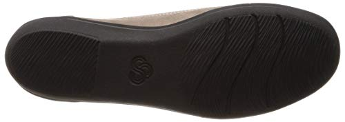 brown Bronze Femmes 137786 Clarks Ballerines Metallic W1qZ07f