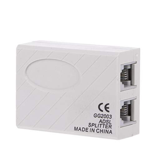 Vegan Telephone RJ11 line ADSL Modem Micro Filter Splitter
