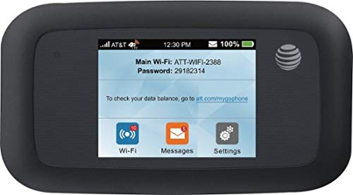AT&T Velocity 4G LTE Mobile WiFi Hotspot (AT&T) Black