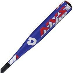 Wilson DeMarini NVS Vexxum Big Barrel Baseball Bat, 26'/15.5 oz, Royal/Red/White
