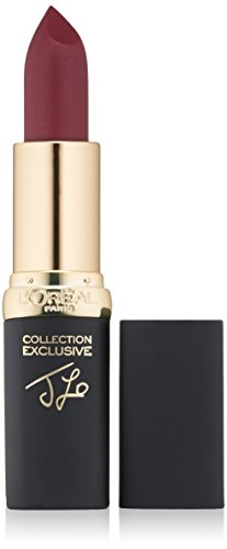 L'Oreal Paris Makeup Colour Riche Comfortable Creamy Matte Lipstick, 705 Berry Matte Pink, 0.13 oz.