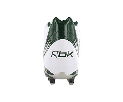 Reebok Pro Brandersnelheid Mid M3 Heren Voetbalschoenen Wit Groen 12