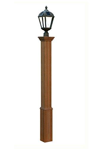 Outdoor Lamp Post Wood - 2