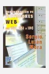 Programación de servidores web con CGI, SSF e IDC Paperback