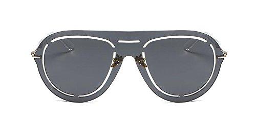 de vintage lunettes retro inspirées en Grise style Pièce Complète du soleil Lennon métallique polarisées cercle rond 0dYwxdr