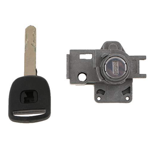 D DOLITY Car Ignition Switch&Door Lock Barrel+Keys Assembly:
