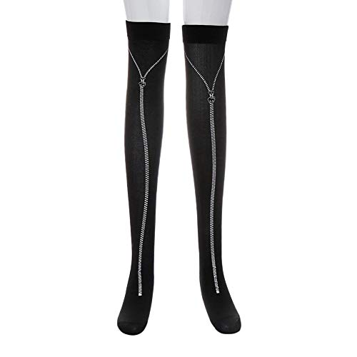 KNDDY Women's Thigh Stockings Long Tube Knee Socks Fancy Dress Party Funny Dress Up Props for Halloween ()