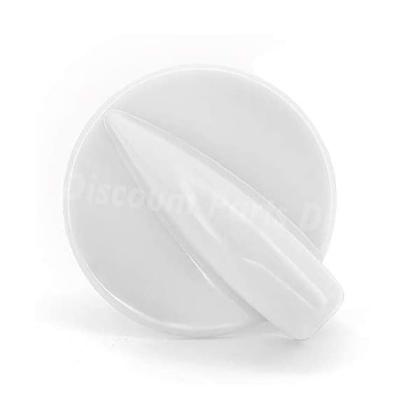 8181859 Control Knob For Whirlpool Kenmore Duet Washer Dryer Replacement Knob WP8181859, 8181859, AP3128772, 46197020472, 8519396, 906595, AH391630, EA391630, PS391630.