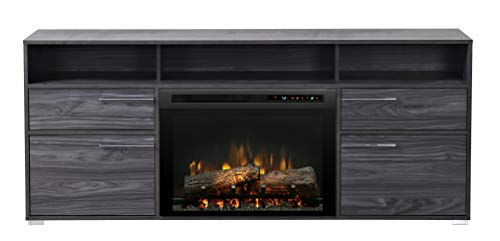 Cheap DIMPLEX Sander Media Console Electric Fireplace with Logs Black Friday & Cyber Monday 2019