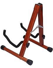 Gitaarstandaard, opklapbaar verstelbaar frame Gitaarframe Corrosiebestendig voor houten gitaar voor volksgitaar