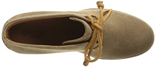 Taupe Bootie Sider Ankle Prow Sperry Stella Top Women's Zwxq0v