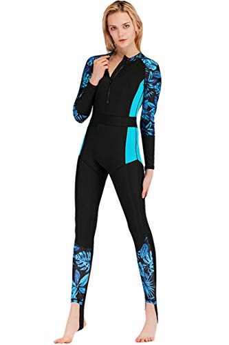 Micosuza Women's One Piece Dive Skin Suit Lycra