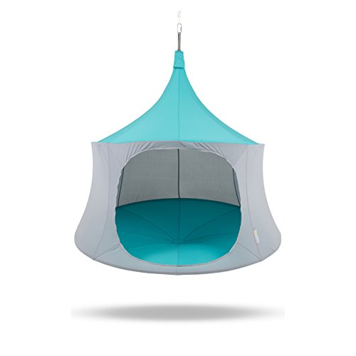 TreePod Cabana 6-Foot Hanging Mesh Daybed, Aquamarine Review