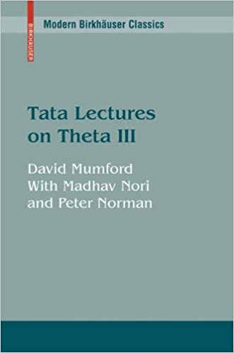 Tata Lectures on Theta III: v. 3 (Modern Birkhäuser Classics)
