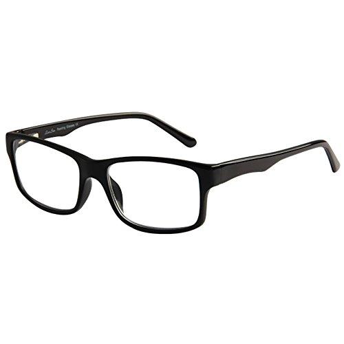 LianSan Brand Designer Fashion Acetate Reading Glasses Men Full Frame Spectacle Glasses Women Spring Hinged Arms Reading Eyeglasses L7801 (+4.00, - Men Spectacle For Best Frames