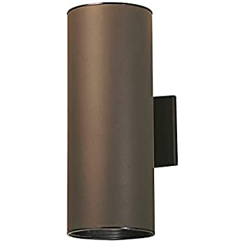 Kichler 9246az Outdoor Cylinder Wall Mount Sconce Uplight
