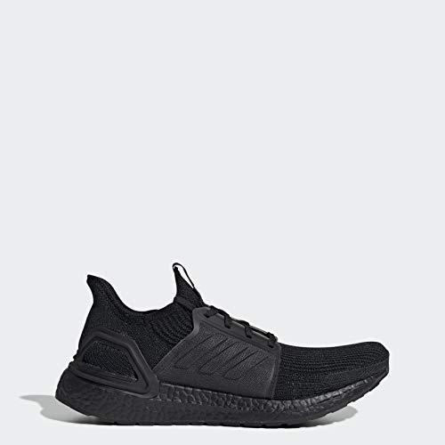 adidas Men's Ultraboost 19 Running Shoe, Black, 9 M US