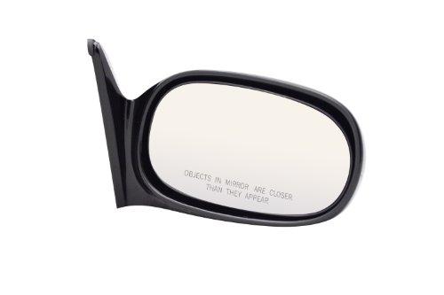 Pilot TY2709410-LR00 Toyota Corolla Black Manual Replacement Passenger Side Mirror (Corolla Oem Toyota Door Mirror)