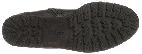 Gabor Comfort Sport, Stivali Donna Nero (57 Schwarz Mel.)