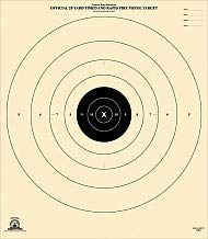 photo regarding Nra B-8 Target Printable referred to as 25 Backyard, Timed and Fast Fireplace Focus, Formal B-8 NRA Focus, 21\