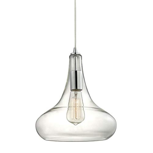 Orbital Chrome Ceiling Pendant Light