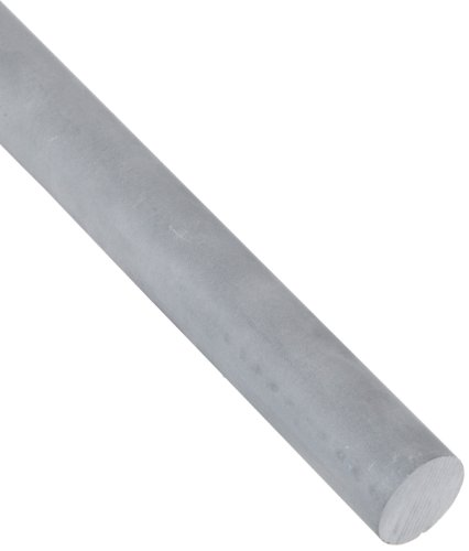 Alumina Silicate Ceramic Round Rod, Opaque Gray, 3'' Diameter, 9-1/2'' Length (Pack of 1) by Small Parts