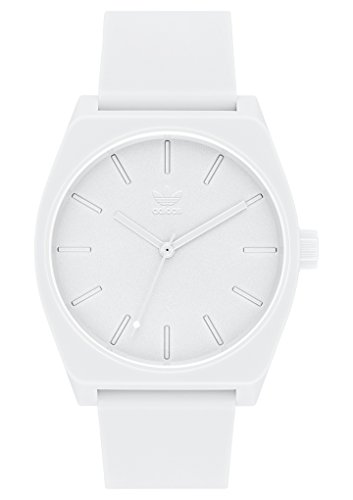 adidas Watches Process_SP1. Silicone Strap, 20mm Width (All White. 38 mm).