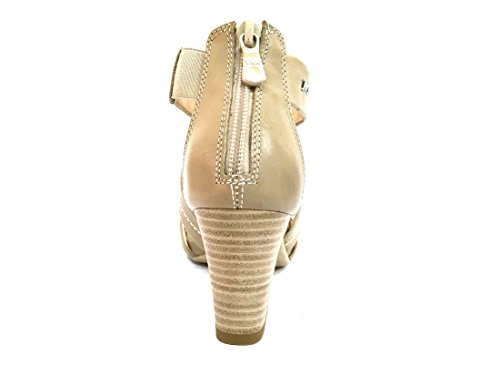 17590 SABBIA Scarpa donna sandalo tacco Nero Giardini pelle made in italy