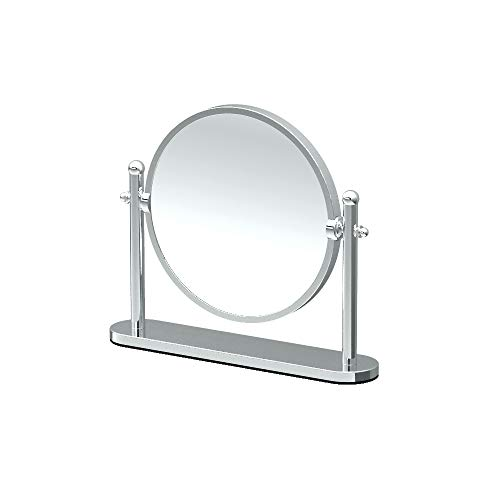 (Gatco 1391 Magnified Table Mirror, Chrome)