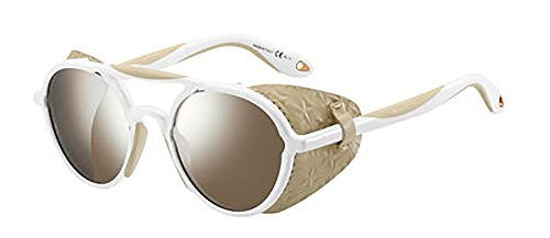 Sunglasses Givenchy 7038/S 0TFE White Beige / U4 brown silver flash lens