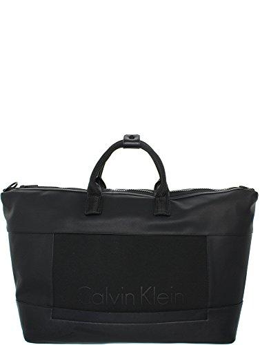 Calvin Klein Caillou Weekender Bag - Black Schwarz_schwarz, Schwarz