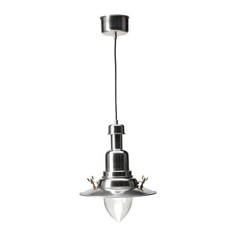 Lámpara de techo IKEA OTTAVA, cada pantalla de aluminio ...