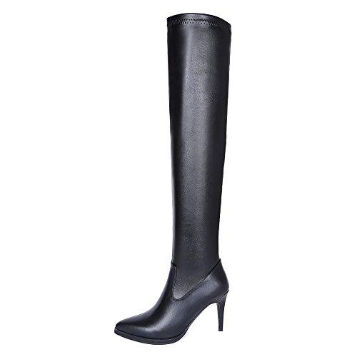 Nine SevenOver-the-knee Boots - Botas mujer negro