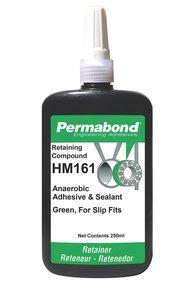 250mL Bottle PermabondHM161 Green General Purpose Retaining Compound