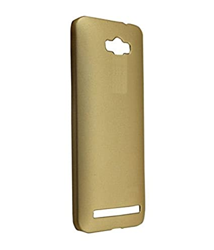 new styles 2c74b fb2ad COVERNEW Back Cover for Asus Zenfone Max Z010D - Golden: Amazon.in ...
