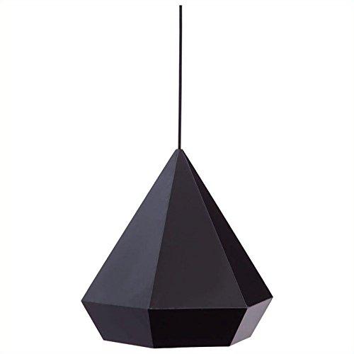 Forecast 1 Light Ceiling Lamps in Black (Forecast Ceiling Pendant)