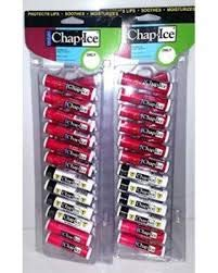 Chap-Ice Assorted Lip Balm Tent Display (2-24pc Tents 48pcs ()