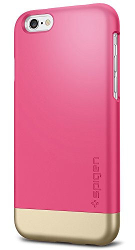 Spigen Style Armor iPhone 6 Case with Soft-Interior Scratch Protection for iPhone 6 - Azalea Pink