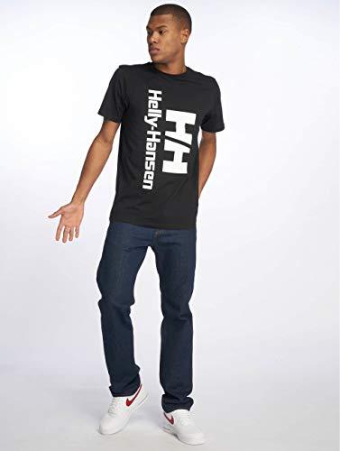 shirt Noir Hansen Retro Helly T UxpOFAFwq