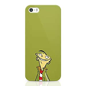 Loud Universe Classic Cartoon Green Ed Edd and Eddie iPhone 5 / 5s Case Cartoon iPhone 5 / 5s Cover with 3d Wrap around Edges