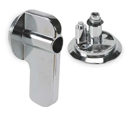 Concealed Latch - ADA Concealed Latch Knobs for Steel Partition, 1-1/2