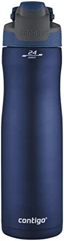 Contigo AUTOSEAL Chill Vacuum-Insulated Stainless Steel Water Bottle, 24 oz., Monaco