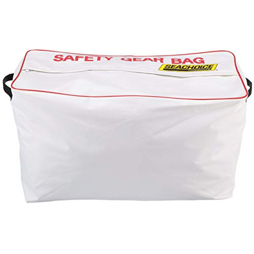 SEACHOICE 44980 Large-Capacity Heavy-Duty Emergency Marine Safety Gear Bag, - Jacket Life Bag