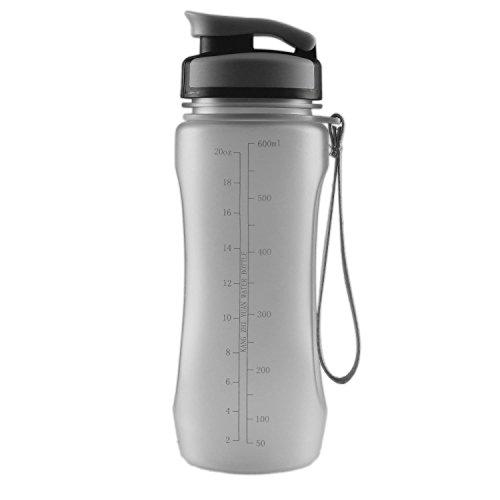 Towond® 20oz/600ml Sports Water Bottle BPA-Free Flip-top Outdoor Bottles
