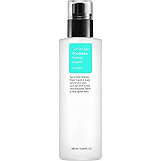 COSRX Two in One Poreless Power Liquid, 100ml / 3.38 fl.oz | Tightening Pores | Korean Skin Care, Vegan, Cruelty Free, Paraben Free