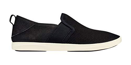 OLUKAI Women's Hale'iwa Pa'i Shoes, Black/Black, 8.5 M US