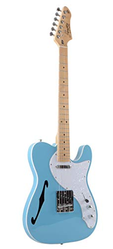 Firefly FFTH Semi-Hollow body Guitar (Blue Color)