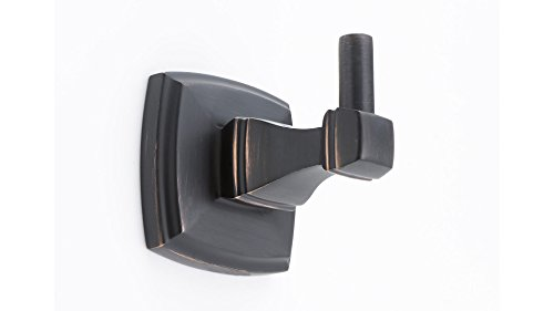 Richelieu Hardware - NB1100546 - Transitional - Bathroom Hook - Paramount Collection - Brushed Oil-Rubbed Bronze  Finish